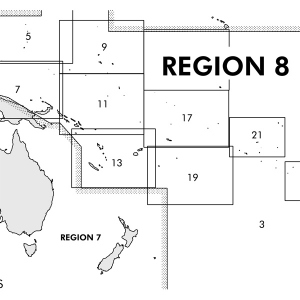 Region 8 South Pacific Islands