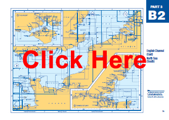 NP131 Admiralty Chart Catalog B2 English Channel (East