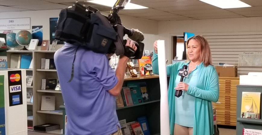Maryland Nautical is headed for television!!